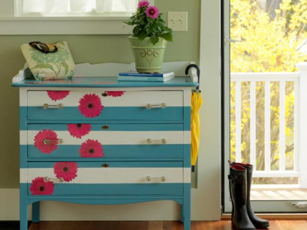 15 Inspirational DIY Decoupage Furniture Ideas