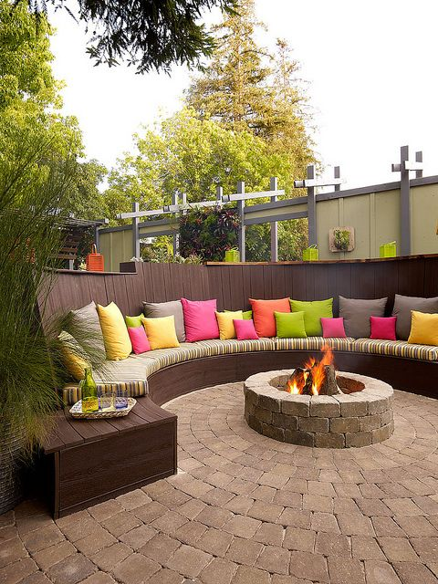 18 Cozy Backyard Seating Ideas - 18 Cozy Backyard Seating Ideas - Live DIY Ideas