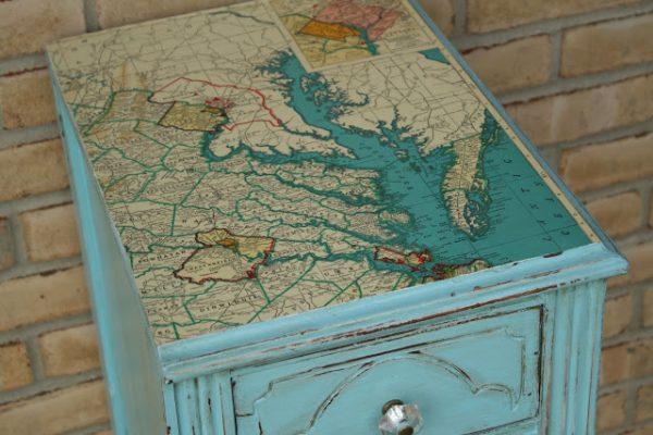 15 Inspirational DIY Decoupage Furniture Ideas