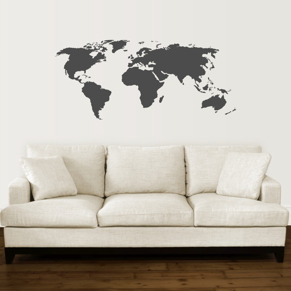 17 cool ideas for world map wall art live diy ideas gumiabroncs Image collections