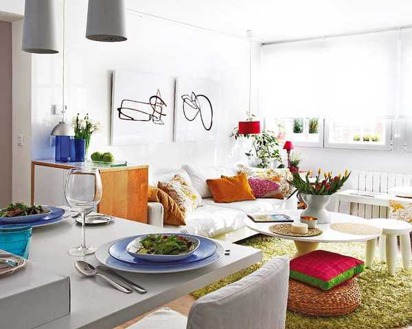 Small Space Decorating some easy rules of small space decorating - live diy ideas