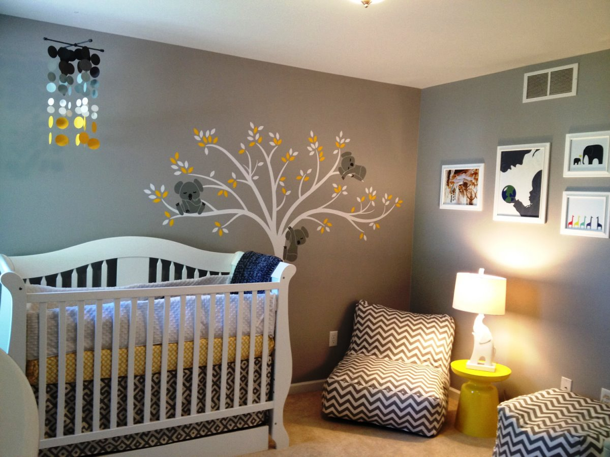 & 17 Gentle ideas for DIY Nursery decor - Live DIY Ideas
