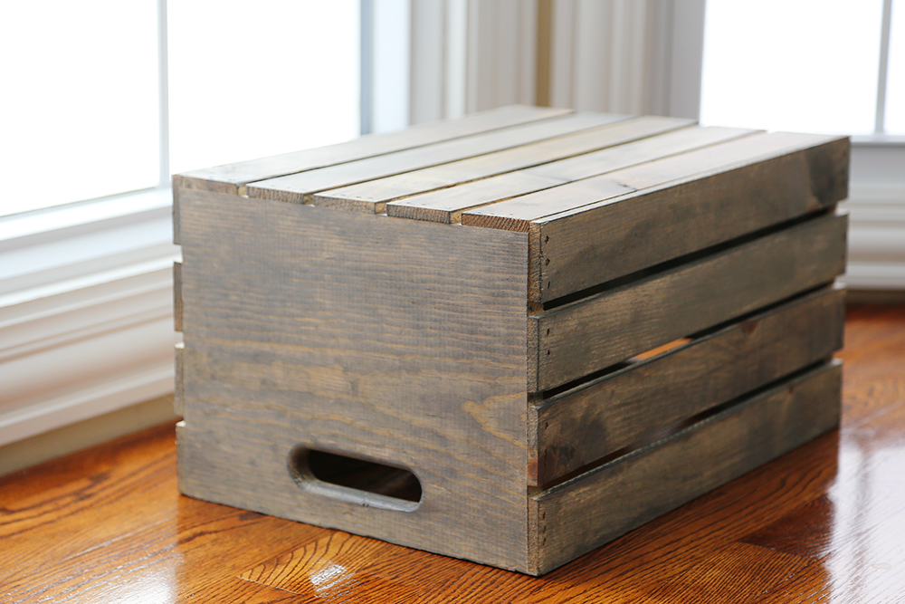 Diy wooden crate 1 live diy ideas for Diy wooden crate ideas