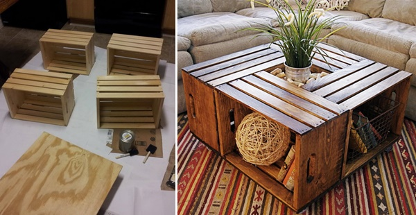 18 DIY Wooden Crate Ideas
