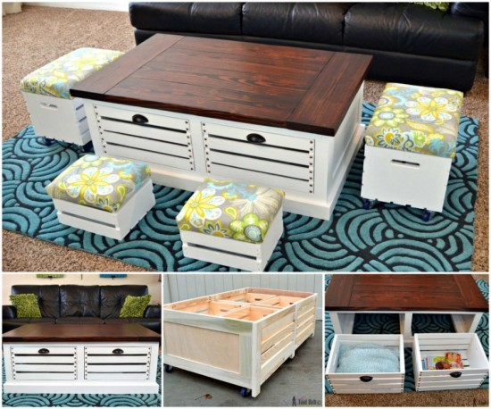18 DIY Wooden Crate Ideas Live