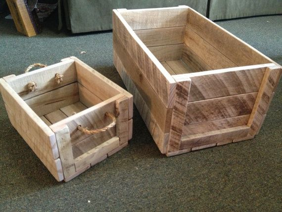 18 diy wooden crate ideas live diy ideas - Diy projects with wooden palletsideas easy to carry out ...