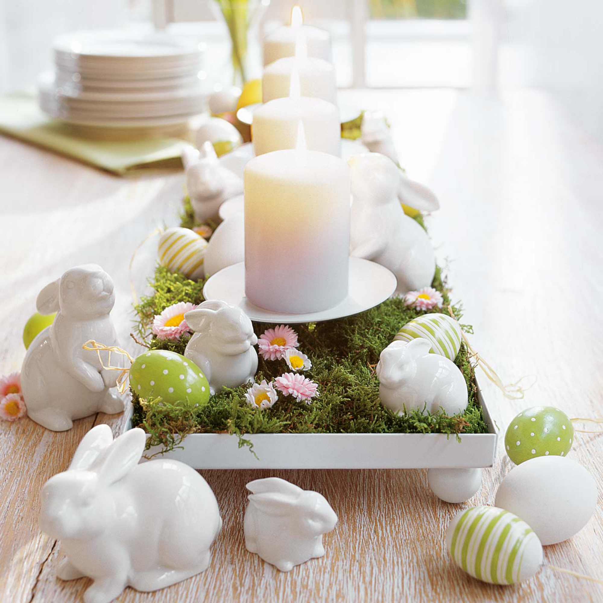18 sweet easter and spring decorations live diy ideas for How to make easter decorations for the home