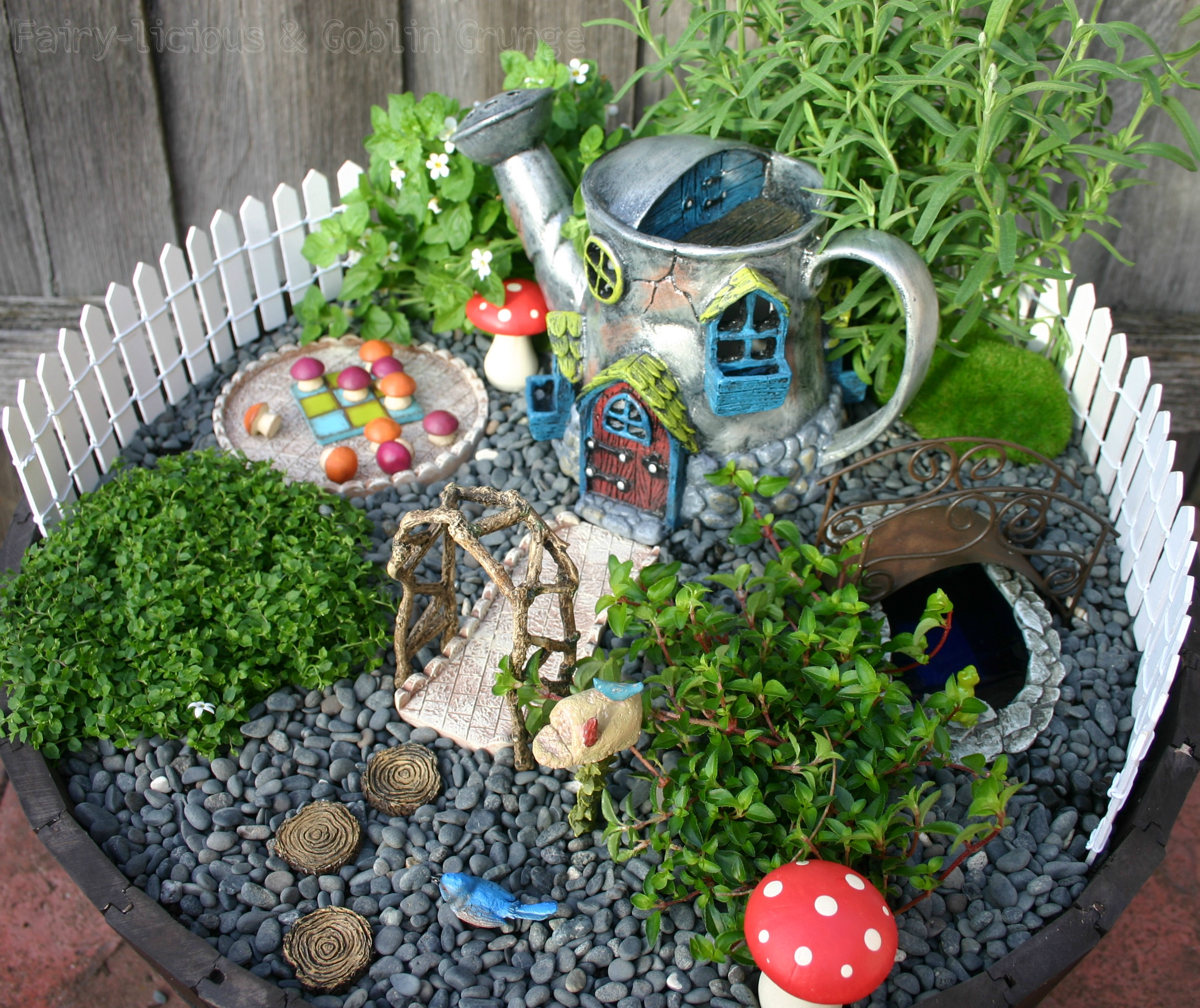 Wonderful Fairy Garden For Design Ideas