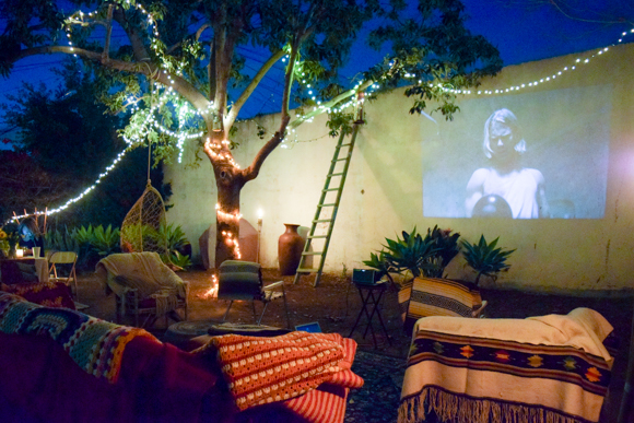 Backyard Theater Ideas 18 cozy backyard seating ideas - live diy ideas