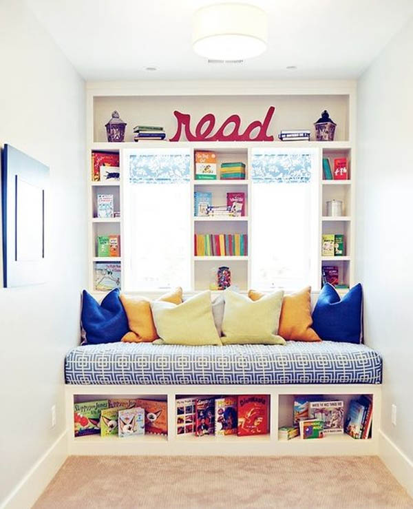 22 Reading Nook Ideas For Clever Cookies