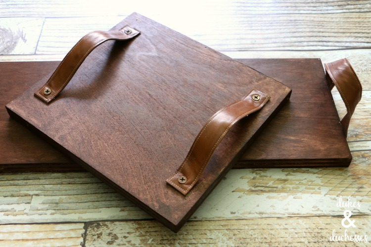 diy wooden tray ideas