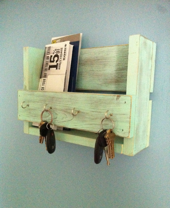 DIY mail organizer ideas