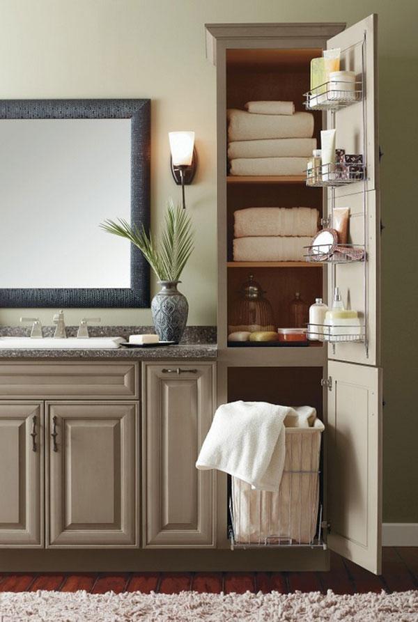 Useful Ideas How to do Bathroom Cabinet Organization - Live ...