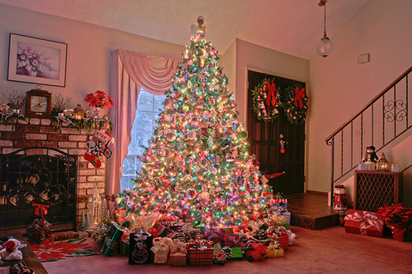 18 Almost Crazy Christmas Tree Ideas