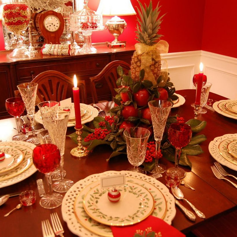 22 Christmas Tablescape Ideas