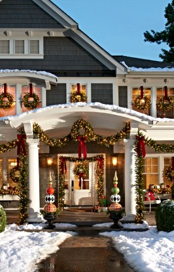 23 Christmas Outdoor Decoration Ideas
