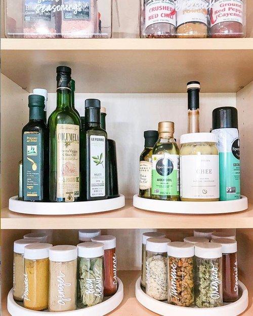 Tips For DIY Kitchen Cabinet Organization